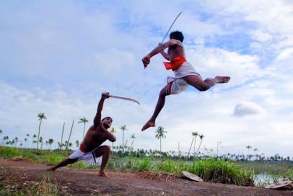 Två män i duell